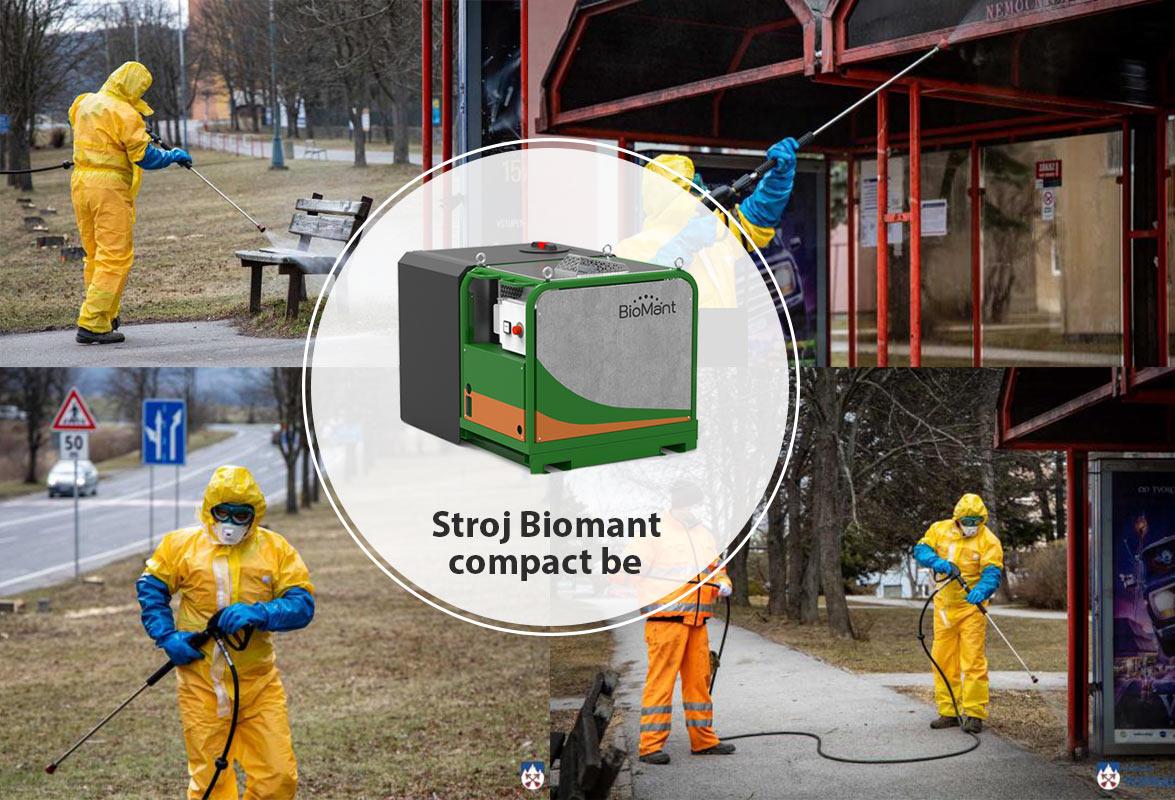 Zastavme šírenie koronavírusu strojom BioMant !3