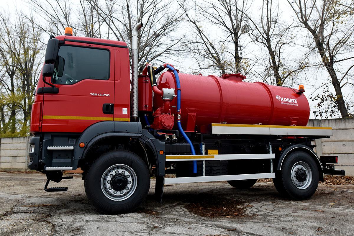 Fekálna cisterna CAS 6104