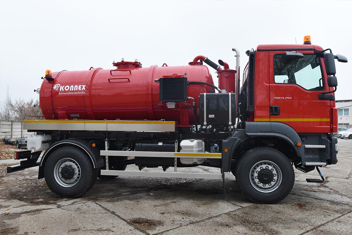 Fekálna cisterna CAS 6109