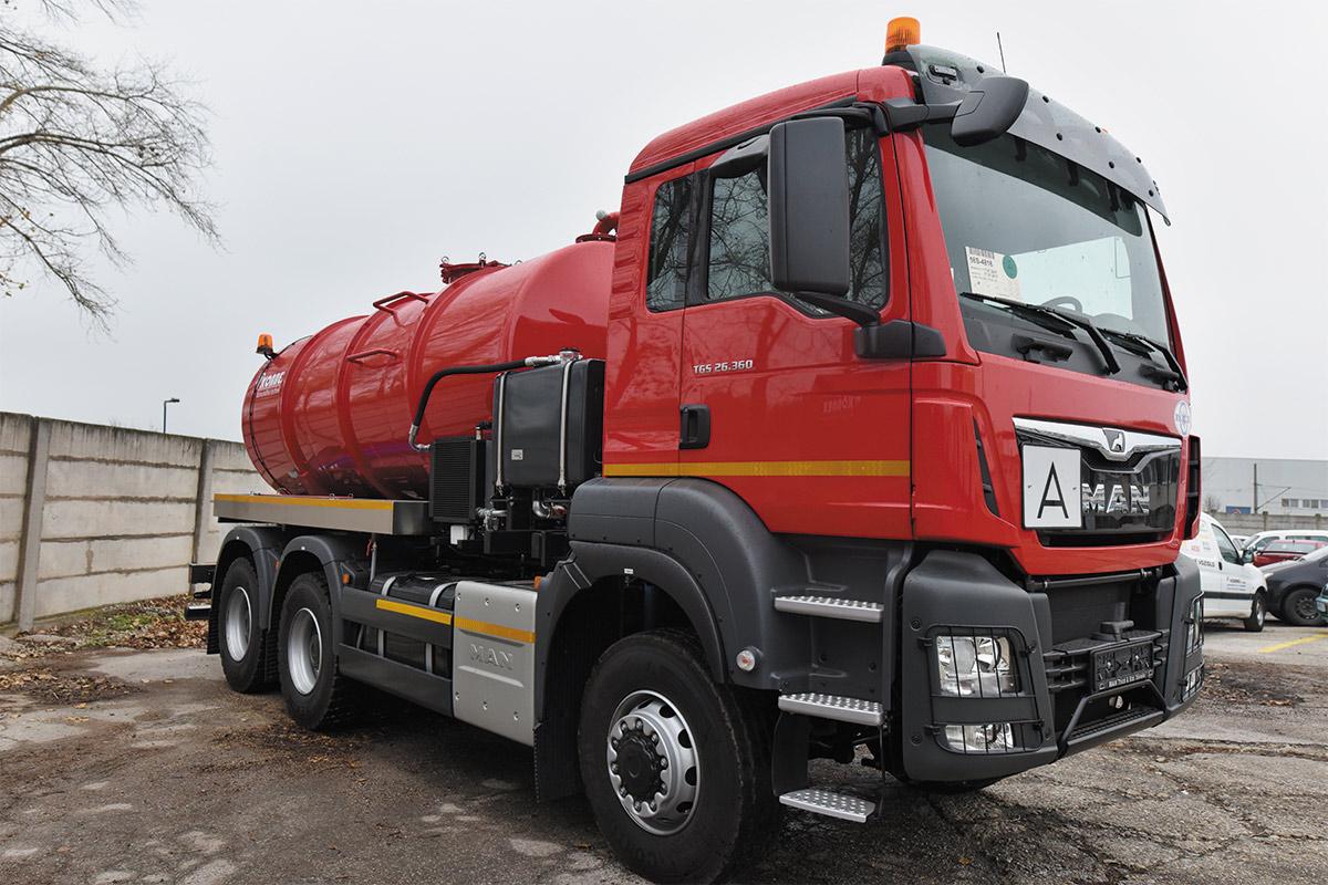Fekálna cisterna CAS 11353