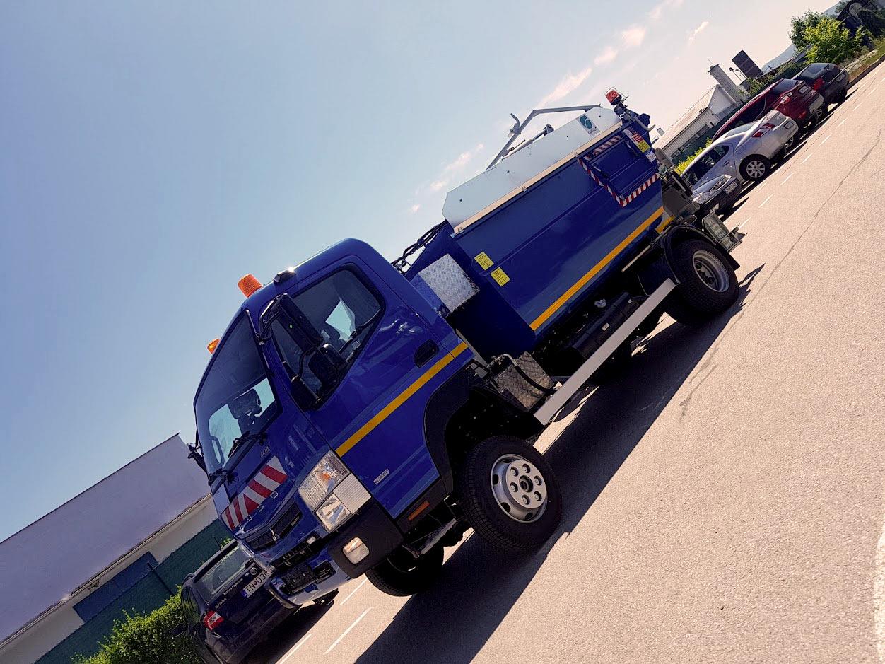 Zberové vozidlo COSECO K 1591