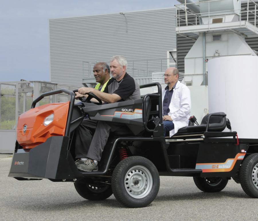 Elektromobil Goupil G 1367