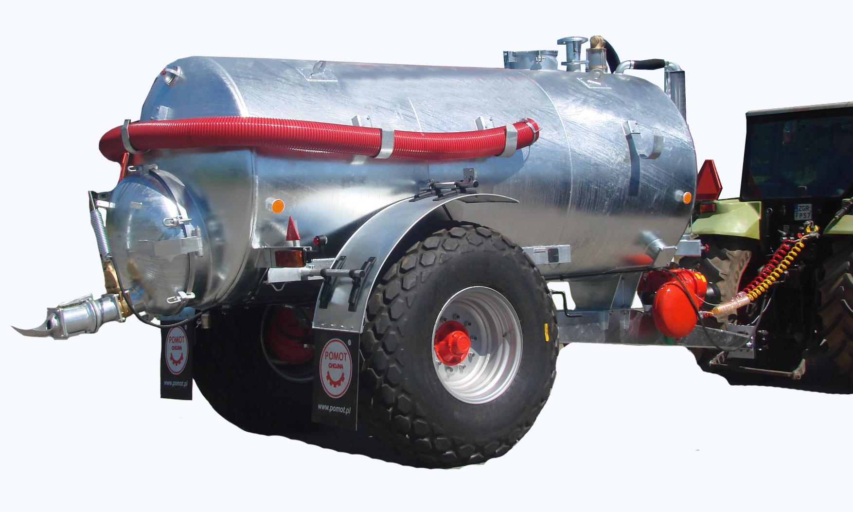 Fekálna cisterna 8000 l  za traktor