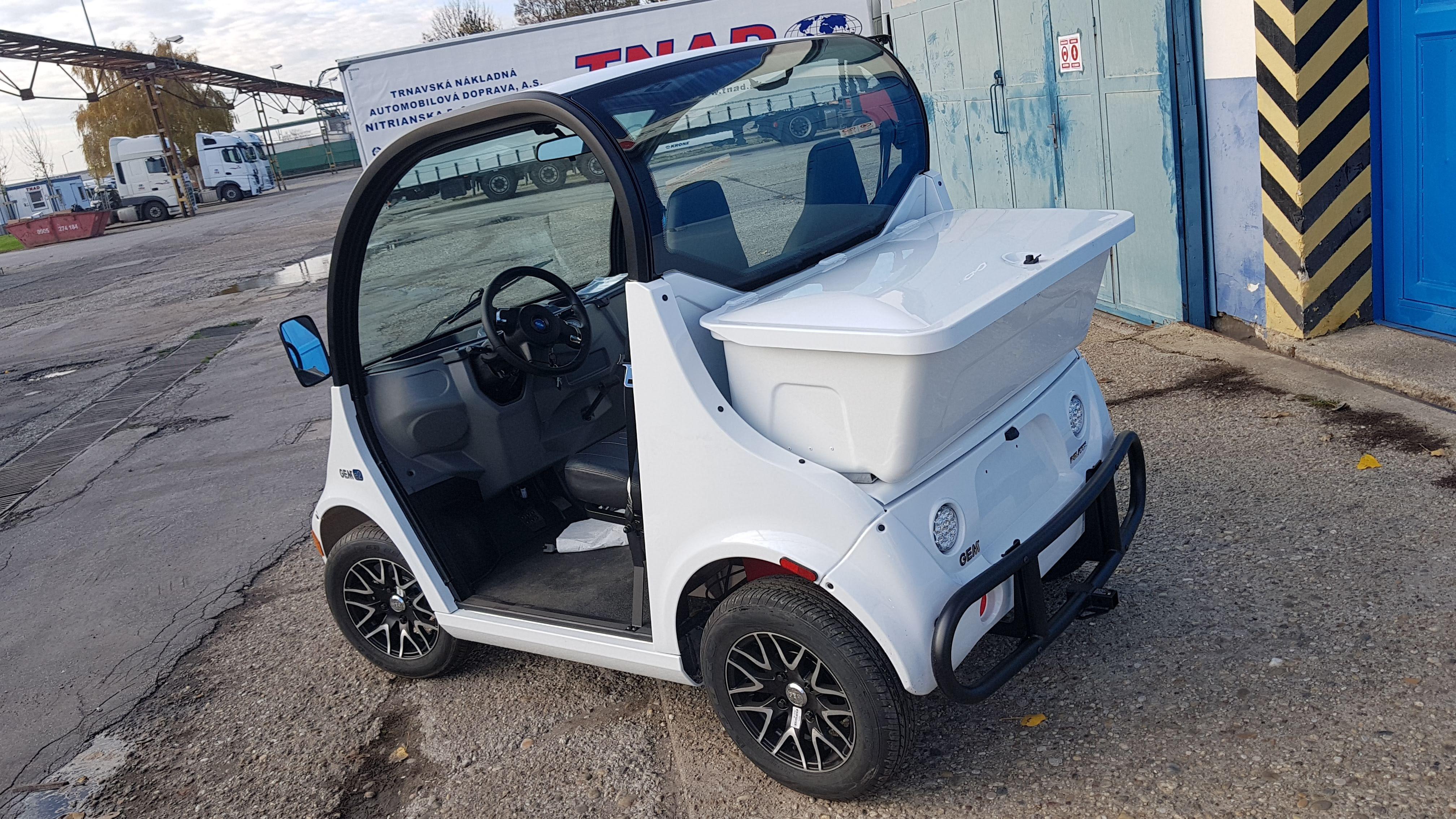 Elektrické vozidlo GEM e2790