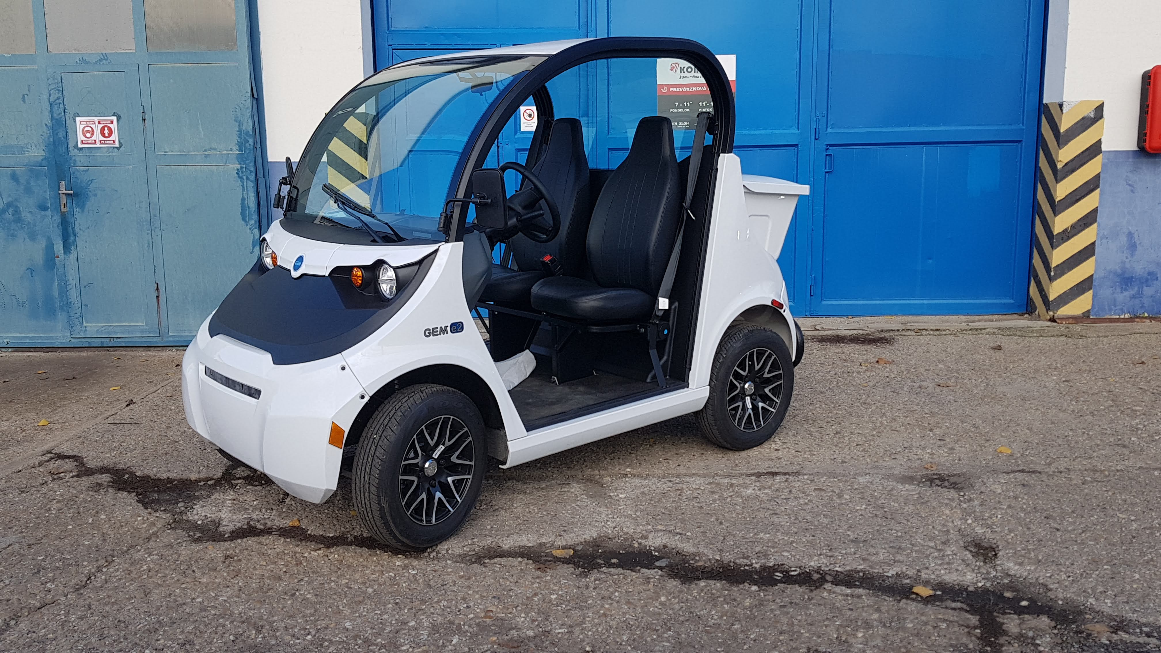 Elektrické vozidlo GEM e2791