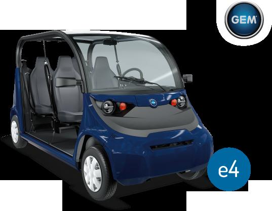 Elektrické vozidlo GEM e4