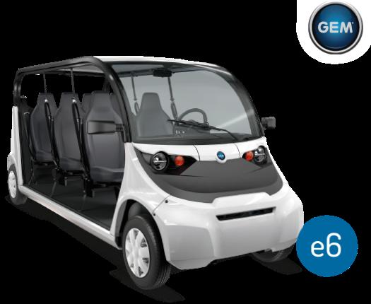 Elektrické vozidlo GEM e6